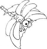 Imágenes de libélulas para imprimir (10/12)