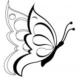 Mariposas para colorear (3/4)