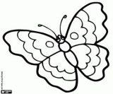 Mariposas para colorear (5/16)
