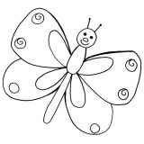 Mariposas para colorear (6/16)
