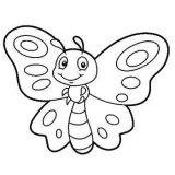 Mariposas para colorear (7/16)