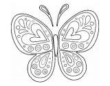 Mariposas para colorear (8/16)