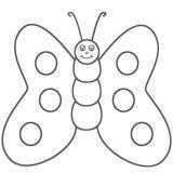 Mariposas para colorear (9/16)