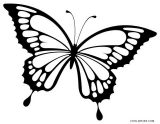 Mariposas para colorear (10/16)