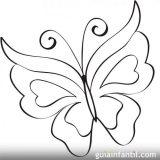 Mariposas para colorear (11/16)