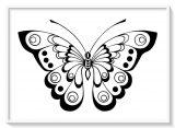 Imágenes de mariposas para colorear (2/16)