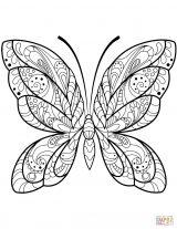 Imágenes de mariposas para colorear (8/16)