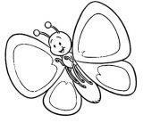 Imágenes de mariposas para colorear (10/16)