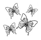 Imágenes de mariposas para colorear (11/16)