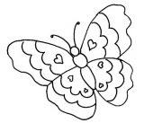 Imágenes de mariposas para colorear (13/16)