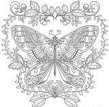 Mariposas para pintar (4/16)