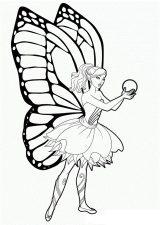 Mariposas para pintar (8/16)