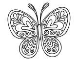 Mariposas para pintar (9/16)