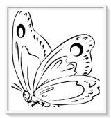 Mariposas para pintar (11/16)