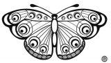 Mariposas para pintar (12/16)
