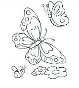 Mariposas para colorear e imprimir (2/16)