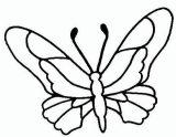 Mariposas para colorear e imprimir (11/16)