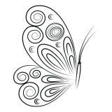 Mariposas para colorear e imprimir (15/16)