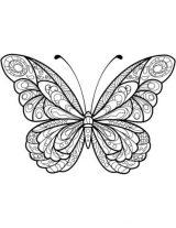 Mariposas para colorear e imprimir (16/16)