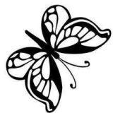 Imágenes de mariposas para pintar (5/16)