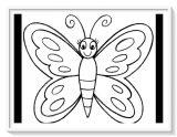 Imágenes de mariposas para pintar (9/16)