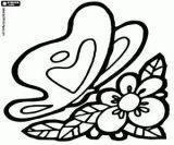 Imágenes de mariposas para pintar (10/16)