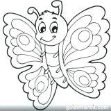 Imágenes de mariposas para pintar (15/16)