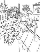 Prodigiosa Ladybug para colorear (5/11)