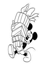 Mickey Mouse para pintar (2/8)