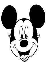 Mickey Mouse para pintar (5/8)