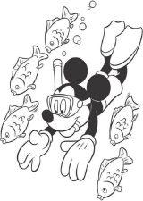 Mickey Mouse para pintar (7/8)
