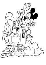Mickey Mouse para pintar (8/8)