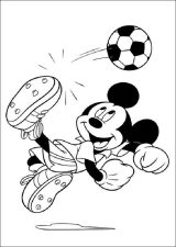 Mickey Mouse para colorear (3/8)