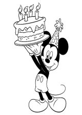 Mickey mouse para dibujar (7/8)