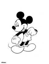 Mickey para pintar (1/8)