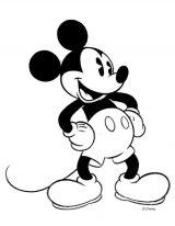 Mickey para pintar (2/8)