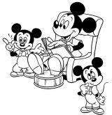 Mickey para pintar (6/8)