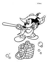 Imágenes de Mickey para colorear (4/8)