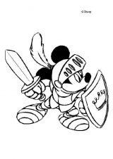 Imágenes de Mickey para colorear (6/8)
