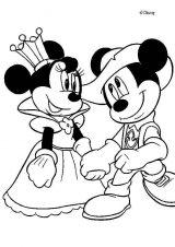 Dibujos de Mickey Mouse para colorear (2/8)
