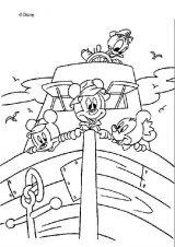 Dibujos de Mickey Mouse para colorear (4/8)