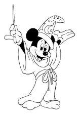 Dibujos de Mickey Mouse para colorear (7/8)