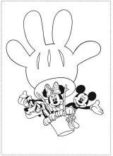 Imagenes de Mickey para colorear (3/8)