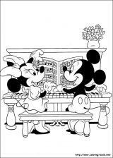 Minnie para colorear: Dibujos de minnie para colorear (7/16)