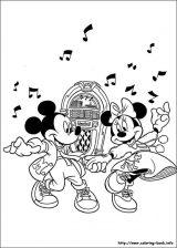 Minnie para colorear: Dibujos de minnie para colorear (9/16)