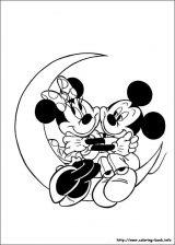 Minnie para colorear: Dibujos de minnie para colorear (16/16)