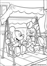 Minnie mouse para colorear (9/16)