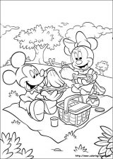 Minnie mouse para colorear (10/16)