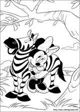 Minnie mouse para colorear (11/16)