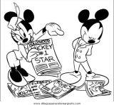 Los mejores dibujos para colorear de Minnie (3/16)